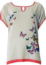 Double Jeu Paris: Butterfly Beauty Top Low Quantity! (Only Turquoise left)