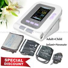 US Seller,Digital Blood Pressure Monitor Infant Adult NIBP SPO2 Monitor Software