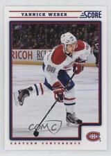 2012-13 Score #264 Yannick Weber Montreal Canadiens Hockey Card