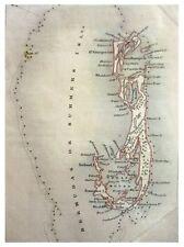 1851 Map - ATLANTIC ISLANDS - BERMUDA
