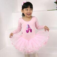 Girl Dancing Shoes Leotard Ballet Tutu Dress Size 3 to 10 years