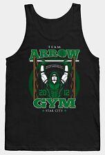 Gimnasio Camiseta Chaleco Flecha Verde MMA Gracioso Eslogan Superhéroe ejercicio
