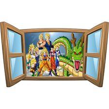 Sticker enfant fenêtre Dragon Ball Z réf 968 968