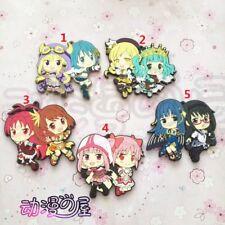 Puella Magi Madoka Magica Magia Record Anime Figure Keychain Rubber Strap Charm