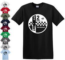 2 Tone Records The Specials Retro Music T-Shirt SKA Northern Soul Reggae Top Tee