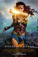 Wonder Woman (2017) Movie Poster | 6 Sizes | #2 dc comic superhero dvd bluray