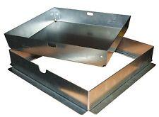 Sigillo porta pavimento con telaio ad T in acciaio zincato TECNOMETAL