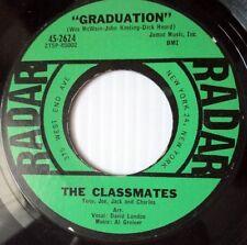 THE CLASSMATES Doo Wop 45 Graduation on Radar label