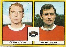 FIGURINE CALCIATORI EDIS 1969 / 70 *MONZA  * SOLDO/ TREBBI - NUOVA