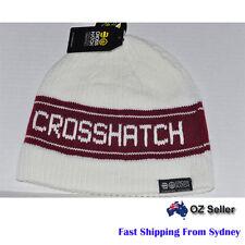 Crosshatch Beanie Hat  One Size RRP 29.95