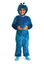 Brand New Sesame Street Cookie Monster Comfy Fur Toddler/Child Costume