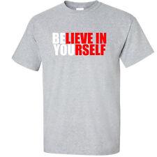 Big 3XL 4XL 5XL Graphic T-Shirt Believe In Yourself 3X 4X 5X Tee Shirt