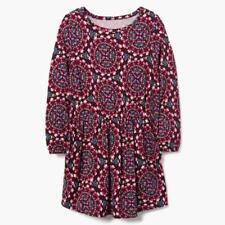 NWT Gymboree Mosaic Dress Girls Sz 4, 5/6,7/8,10/12,14 Burgundy