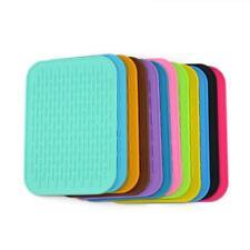 Heat Resistant Silicone Table Mat Placemat Non-slip Pan Pot Holder Durable 1pc Z