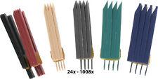 Unterlegkeile Montagekeile 1-6mm Keile Distanzplättchen Distanzkeile Plastikkeil