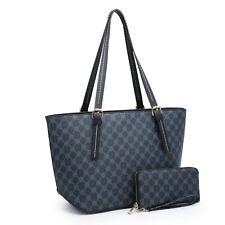 Women's Satchel Handbag Shoulder Tote Bag Purses/Match Wallet Set New Arrival