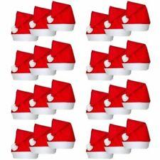 All'Ingrosso Christmas Santa Cappelli Costume Festa di Natale Babbo Rosso