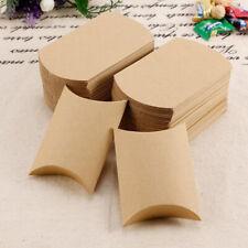 Cute Kraft Paper Favor Box Wedding Party Favour Gift Candy Boxes 50 / 100PCS