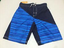 NWT Gymboree Boy Swimsuit Geo Trunk Shorts UPF 50+ 7/8 5/6