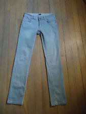 Jean TRUSSARDI gris slim fit mod.280 neuf size 27 et 34 neuf!!