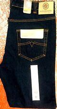 Para Hombre Kam KBS101 Stretch Jeans En Indigo