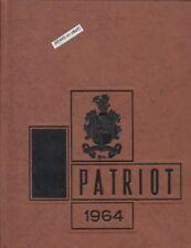 1964 PATRICK HENRY HIGH SCHOOL YEARBOOK, ROANOKE, VA