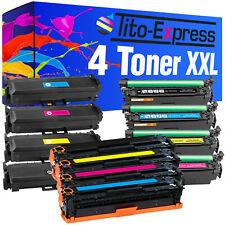 Laser Toner 4er Set pro Series for hp 125A 126A 131X 130A 203A 205A 305X 128A