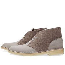 Clarks Originals Womens ** Desert Boots ** Dark Grey Felt Suede ** UK 5.5