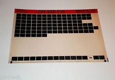 Microfich Ersatzteilkatalog Honda CH 250 F / G Stand 03/1986