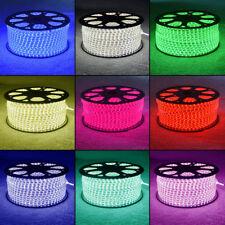 LUCI A LED STRISCIA 3528/5050, 220V- 240 V IP68 IMPERMEABILE SMD, Kit di rivestimento da giardino