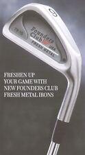 Unused Founders Club 93 TV-1S 2-iron RH MP300 Steel