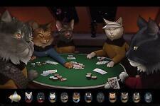 Star Trek Cats (Poker) Maxi Poster