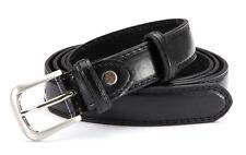 Business Herren Gürtel GIL schwarz in Überlänge, Gürtelbreite 3,0 cm, 140-165 cm
