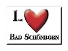 DEUTSCHLAND SOUVENIR - BADEN WÜRTTEMBERG MAGNET BAD SCHÖNBORN (KARLSRUHE)