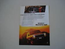 advertising Pubblicità 1987 JEEP CHEROKEE CHIEF