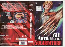 GLI ARTIGLI DELLO SQUARTATORE (1971) VHS