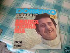 "DOMENICO MODUGNO EN ESPANOL "" AMARGA TIERRA MIA ""  SPAGNA'73"