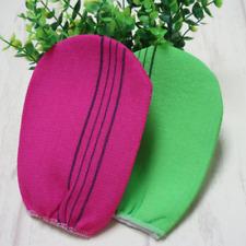 2 Colors Korean Italy Exfoliating Body-Scrub Bath Glove Towel Massage Cleaner