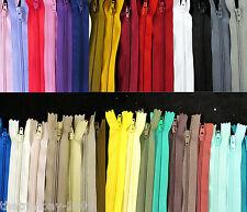 """Qualità superiore 20 """" (50 cm) - 22"""" (55 cm) estremità chiuse con Zip in Nylon - 5 CERNIERE vendita vendita"""