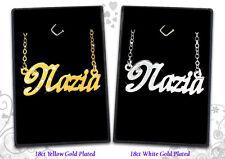 Nome Personalizzato collane 18ct gioielli ciondolo doni arabo/Asia/musulmani Eid