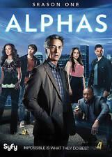 Alphas: Season One (DVD, 2012, Canadian)