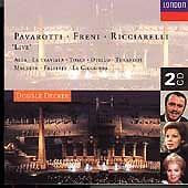Pavarotti, Freni and Ricciarelli Live (CD, London)
