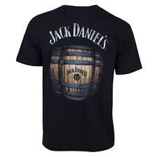 Jack Daniels Barrel Tee Shirt Black
