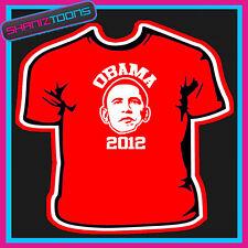 OBAMA 2012 RE ELECTION AMERICA USA PRESIDENT TSHIRT