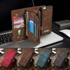 PU Leder Multifunktion Handy Tasche Schutz Hülle Wallet Case Cover Bumper Etui