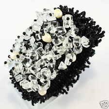 Elegante Designer Bracciale Perle KERAMIC Beads fatto a mano b071