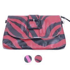 ZEBRA Zebramuster PUNK Clutch Bag / Tasche Rockabilly