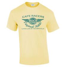 Café Racers camiseta Tonelada Para Arriba Chicos Hombre Diseño Moto motero