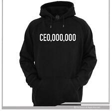 CEO HOODIE / HOODY  CEO,OOO,OOO HUSTLE  HIP HOP BOSS