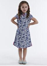 100% Artisanale Qipao Fille Robe Cheongsam Chinoise Mode Enfant en Coton #109